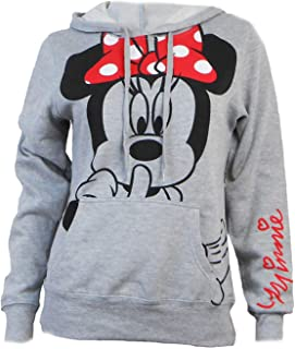 49dce3c029f Disney Junior Minnie Mouse Silent Hoodie Fleece Pullover