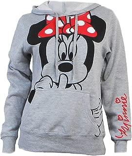 Disney Junior Minnie Mouse Silent Hoodie Fleece Pullover