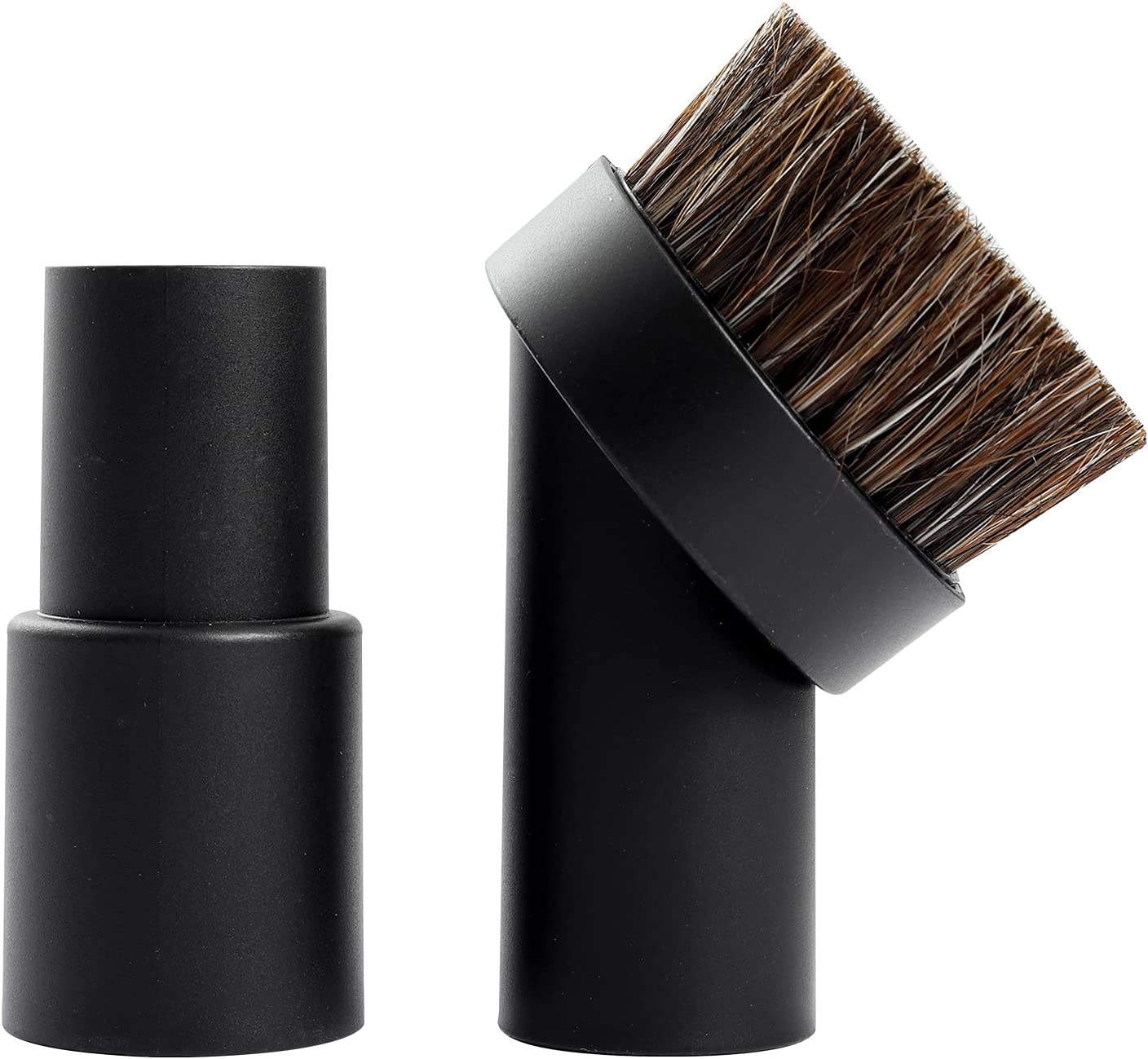 32mm Horse Max 43% OFF Hair Ultra-Cheap Deals Dust Brush with 1- 8 to 1-1 4 Vacuum 3 inch