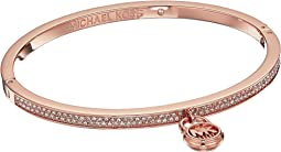 Steel & Pave Padlock Bracelet