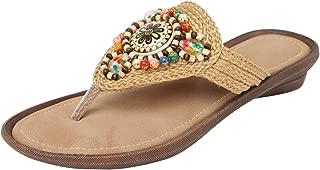 Catwalk Cream Slip-on Sandals