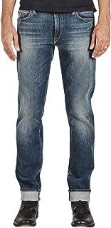 HIROSHI KATO Jeans Men's The Pen Slim Straight Rain 10.5 Oz 4-Way Stretch Selvedge Denim Slim Fits Made in USA