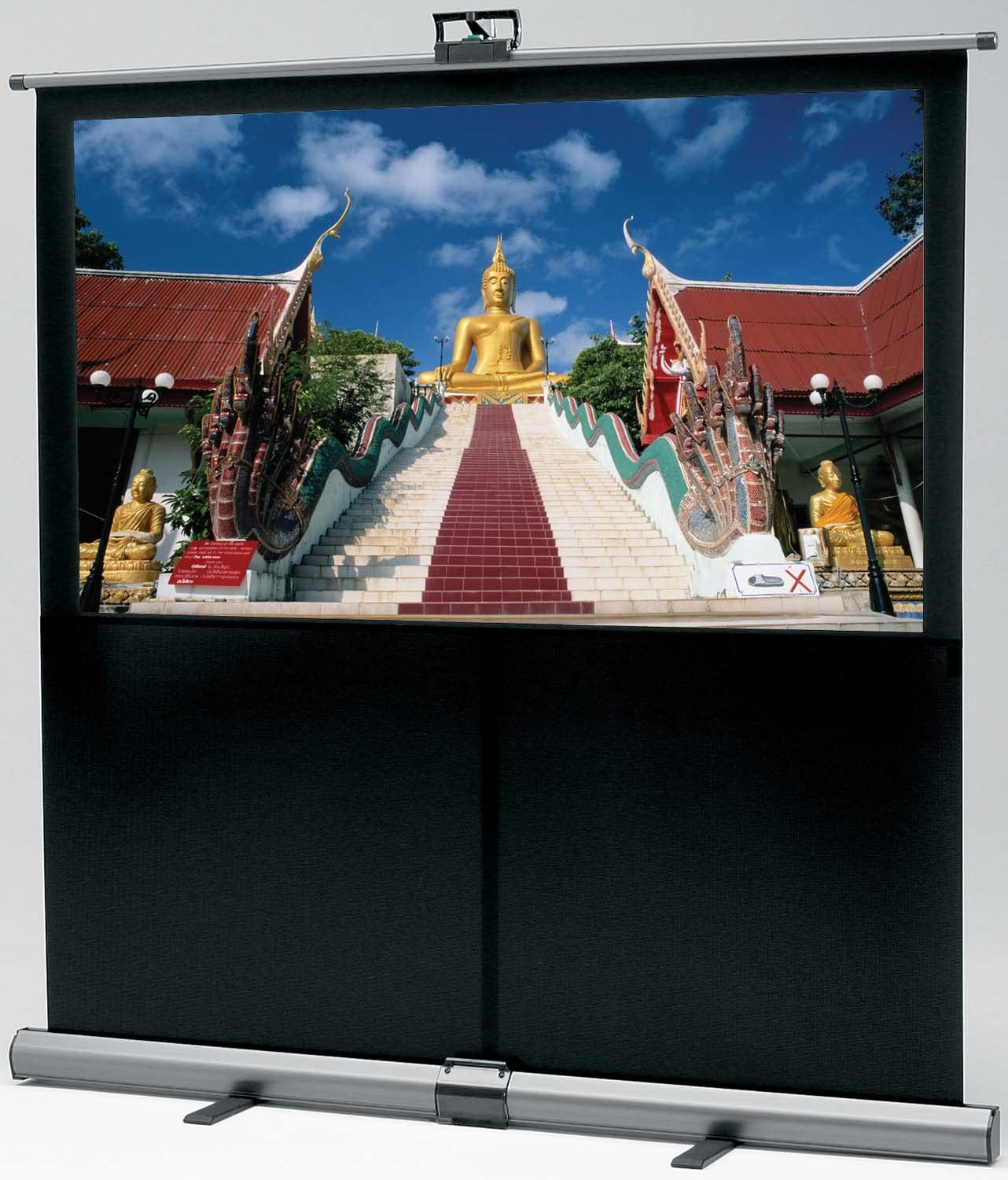 Da-Lite 94129 80-Inch Theater-Lite HDTV Portable Projection Screen (Discontinued by Manufacturer)