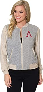 Flying Colors Apparel Women's NCAA Collection | Roni Braided Varsity Jacket