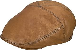 Bailey Men's Leather Glasby Cap Cognac