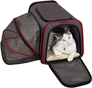 Qpw Pet Travel Oxford Fabric Foldable Carry Double-Sided Expansion Bag Portable Breathable Bag