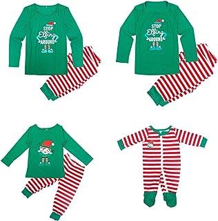 Conjunto de Pijamas a Juego de la Familia de Navidad para papá, mamá, niños, bebé, Ropa de Dormir, Ropa de hogar, Traje