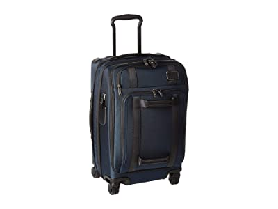Tumi Merge International Front Lid 4 Wheel Carry-On (Navy) Carry on Luggage