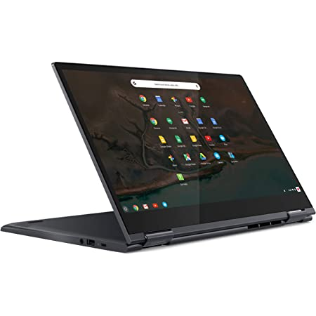 "Lenovo Yoga Chromebook C630 - Portátil táctil convertible 15.6"" FullHD (Intel Core i5-8250U, 8GB RAM, 128GB eMMC, Intel UHD Graphics, Chrome OS), Color azul - Teclado QWERTY español"