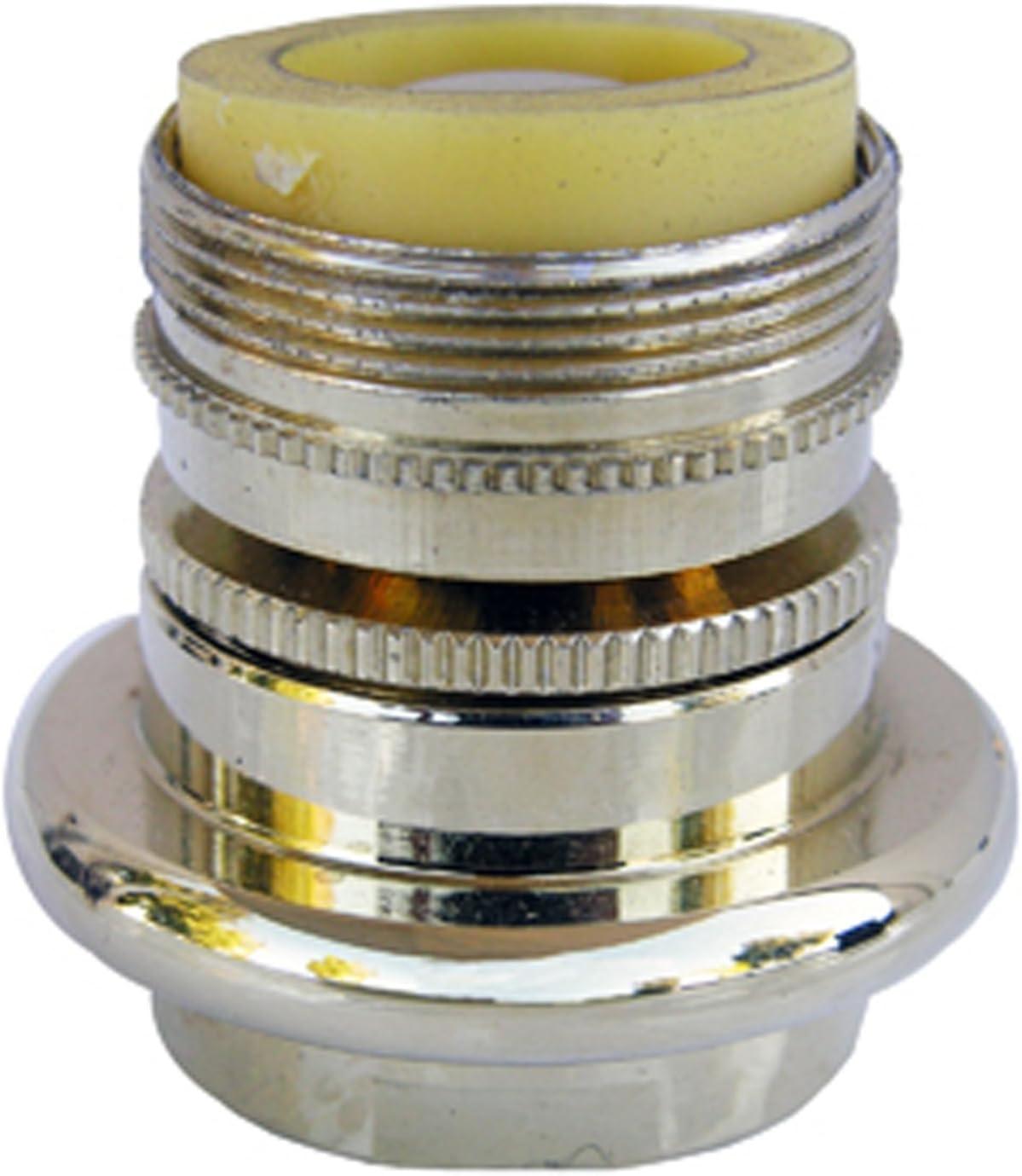 Simpatico 91091P Brass Swivel Aerator Standard Female Thread Wit