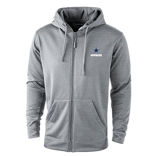 Dunbrooke Apparel NFL Trophy Fullzip Hooded Tech Fleece 567dea252