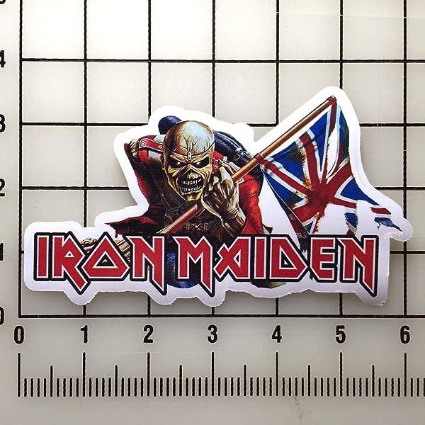 CA POWER Iron Maiden 6 Inch Wide Color Vinyl Sticker