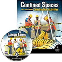 Confined Spaces: Entry Team Training Construction Activities English & Spanish Training DVD Video- J. J. Keller- Meet Requirements of OSHA Standard regarding Construction Activities in confined Space