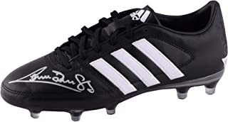 Graeme Souness Liverpool Autographed Black and White Adidas Gloro Soccer Cleat - ICONS - Fanatics Authentic Certified