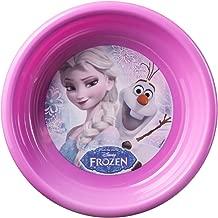 Home Frozen Plate Plastic Multi Coloured