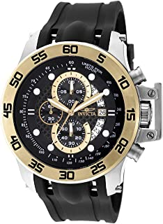 Invicta Mens 19253 I-Force 18k Gold Ion-Plated Stainless Steel Watch