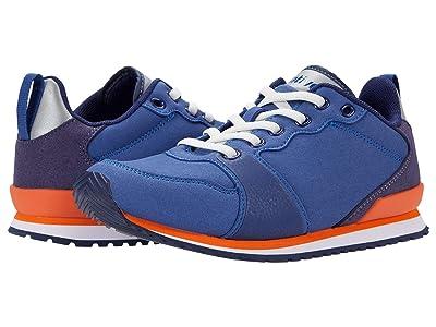Native Kids Shoes Dartmouth (Little Kid) (Marine Blue/Shell White/City Orange/Regatta Blue) Kid