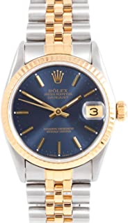 Rolex 68273 Ladies 31mm Datejust Model - Blue Dial - Jubilee Band (Certified Pre-Owned)