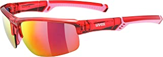 Uvex Sportstyle 226 Gafas Deportivas Ciclismo, Unisex Adulto, Rojo/Rosa