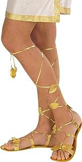 Widmann- Sandalias estilo romano, color dorado