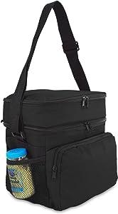 """10"""" Deluxe Cooler & Lunch Bag in 1"""