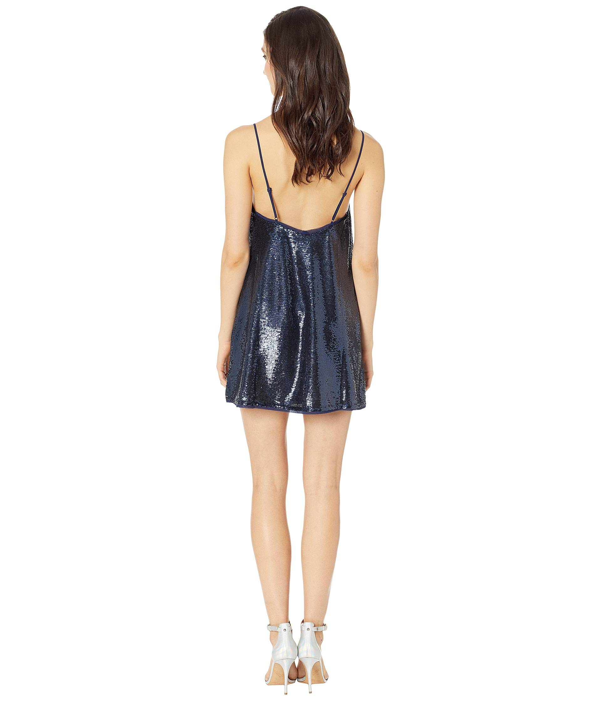 Slip People To Time Dress Shine Navy Free qIpfdcwZRp