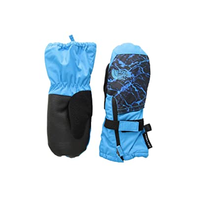 The North Face Kids Toddler Mitt (Infant/Toddler) (Hyper Blue/Hyper Blue Granite Print) Extreme Cold Weather Gloves