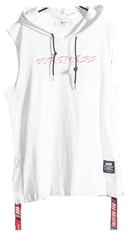 メンズ タンクトップ  ゆったり 復古風 大人気 無袖 原宿スタイル 春夏 個性な  スポーツ おしゃれ 袖なし トレーニングウェア tシャツ 無地 ジュニア ランニング