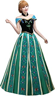 Angelaicos Women's Hand Sewing Party Long Dress Cosplay Costume