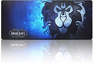 World of Warcraft Extended Gaming Mouse Pad Large,Keyboard and Mouse Combo Pad Desk Mat (27.5