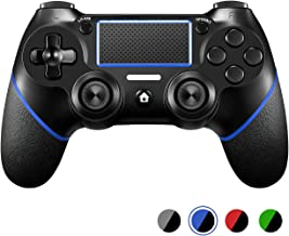 PS4 Controller ORDA Wireless Gamepad Controller for PS4/PS4 Pro/PC and Laptop with Vibration and Audio Function, Mini LED Indicator