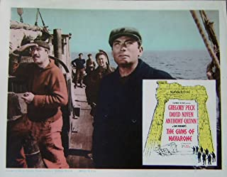 Guns of Navarone 1961 Authentic, Original WW2 story: Gregory Peck 11x14 Lobby Card Movie Poster