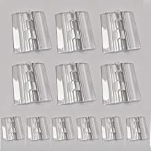 Transparante Acryl Scharnieren 12 Stks Vouwen Duurzame Duidelijke Plastic Make-up Continue Piano Scharnier Butt Scharniere...