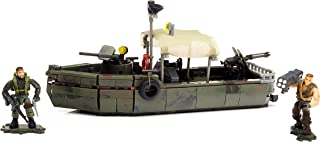 Mega Bloks DPB56 - Call of Duty Riverboat Raid 320 Piece Collector Construction Playset with Figures