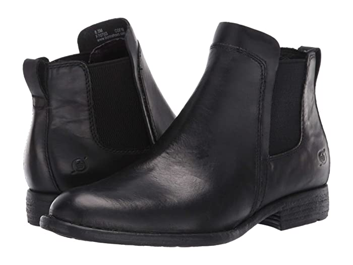 Born  Neah (Black Full Grain Leather) Womens  Boots