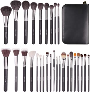 Docolor Makeup Brushes 29 Piece Professional Makeup Brush Set Christmas Gift Premium Goat Hair Kabuki Foundation Blending ...