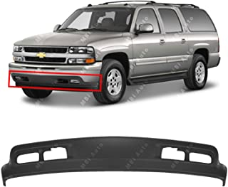 MBI AUTO - Textured, Dark Gray Front Bumper Lower Air Deflector Valance for 1999-2002 Chevy Silverado 99-02 & 2000-2004 Suburban & Tahoe 00-04, GM1092167