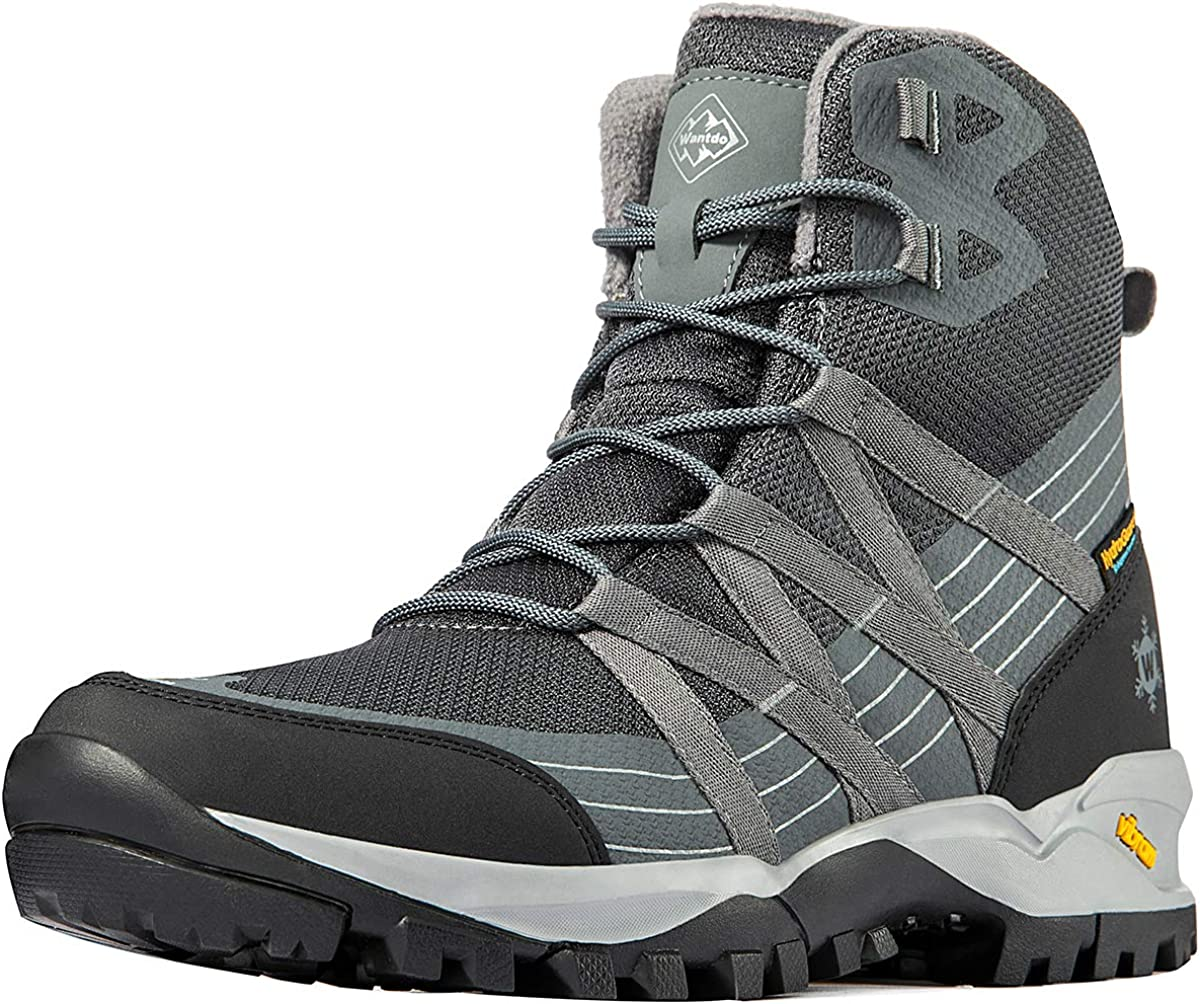 Wantdo Men's Waterproof Hiking Boots for Bargain Ankle Fresno Mall Lightweight