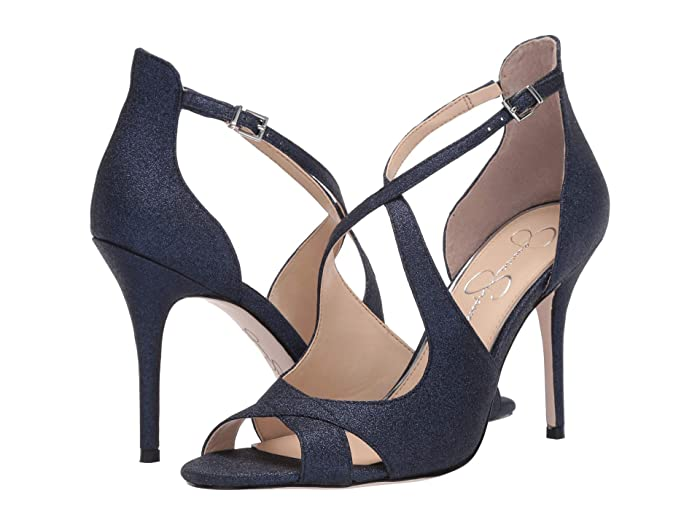 Jessica Simpson  Averie (Navy) Womens Shoes
