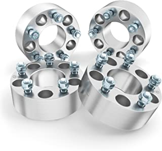 StanceMagic - 50mm (2 inch) Wheel Spacers (5x114.3, 73.1mm bore, 12x1.5 Studs) Works with Many Acura Honda Dodge Hyundai Toyota Mitsubishi Lexus Kia (Read Listing for Year Model Info) 5x4.5 Silver 4pc