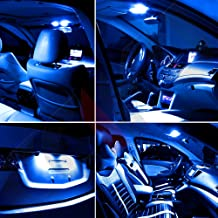 SCITOO LED Interior Lights 5pcs Ice Blue Package Kit Accessories Replacement for 1995-2004 Toyota Tacoma