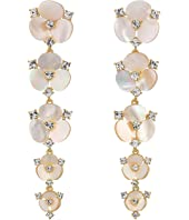 Kate Spade New York - Disco Pansy Statement Drop Earrings