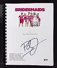Paul Feig Signed Bridesmaids Movie Script Autographed BAS #F84621 - Beckett Authentication