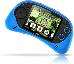 IQ Toys Handheld Arcade Game Zone Player Console Classic 200 Preloaded Video Games for Kids, 16 BIT Large 2.7