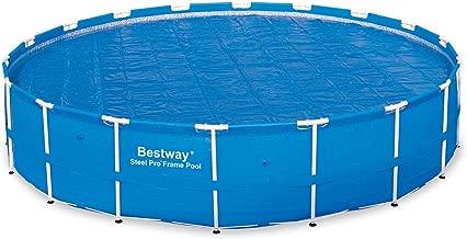 Bestway 58173 Solar Pool Cover, 18-Feet