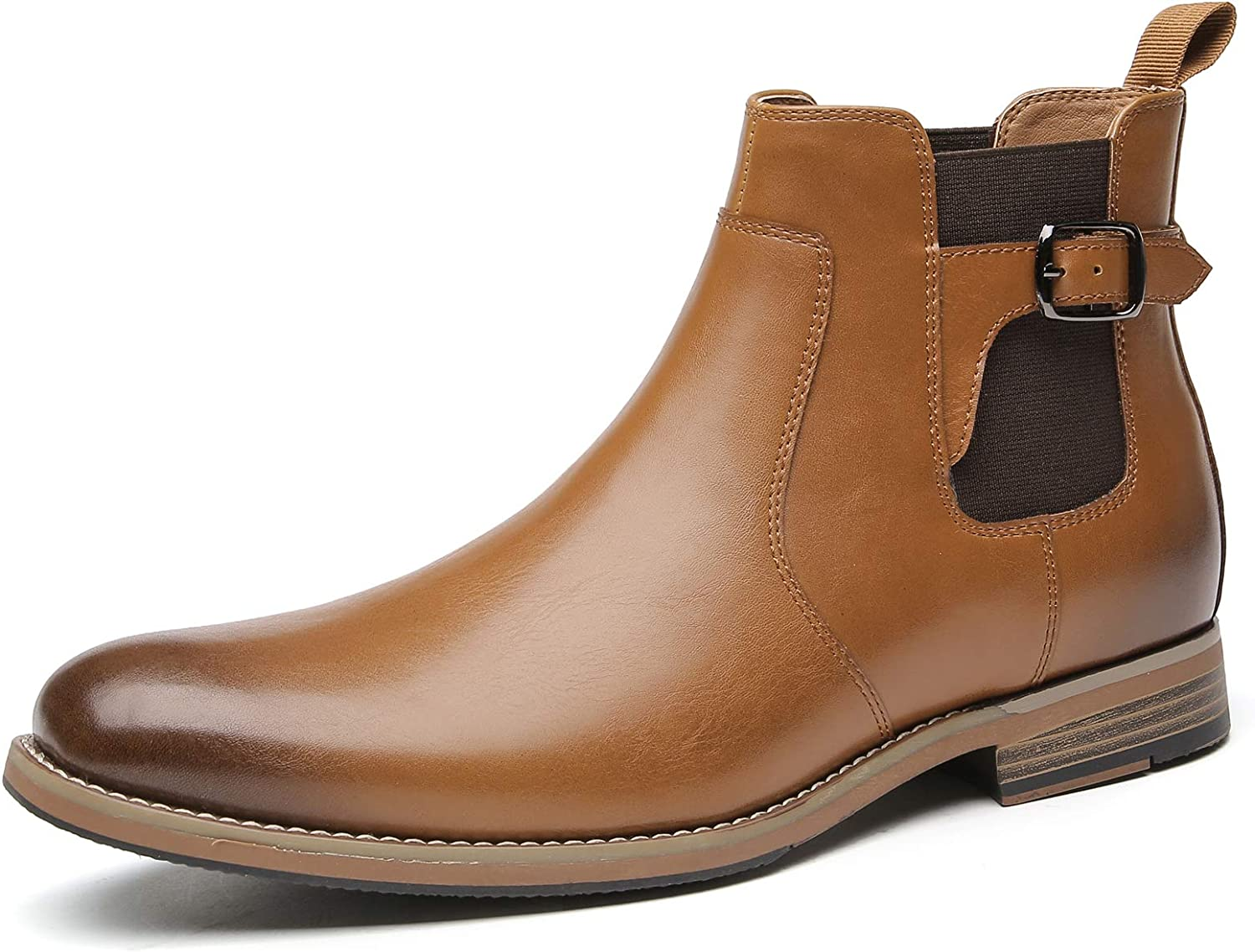 Popular overseas Slip On Clearance SALE! Limited time! Chelsea Boots For Men Formal - And Brow Mens Dress