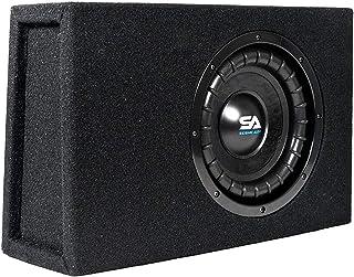 $108 » Sponsored Ad - Seismic Audio - SA-SCE08-8 Inch 400 Watt Slim Shallow Mount Car Truck Audio Subwoofer Enclosure