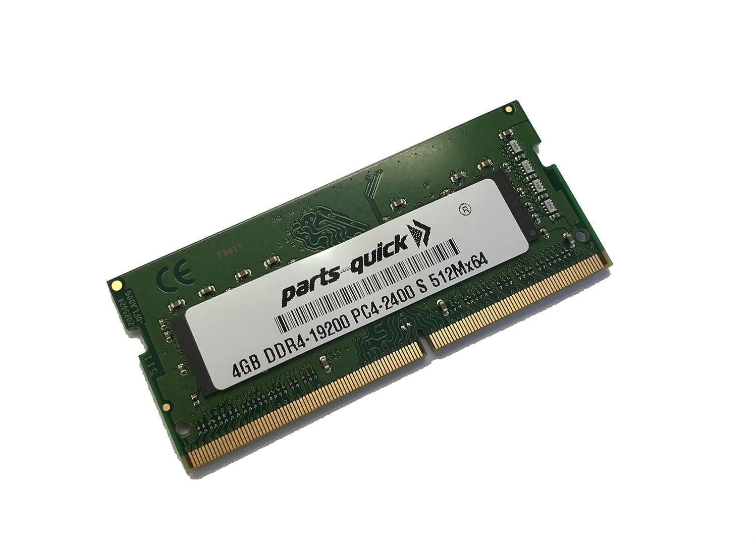 シダトリップ置き場4?GB (1?x 4gb) メモリHP ZBook 17?g4モバイルワークステーションddr4?–?2400?SODIMM RAM (parts-quickブランド)