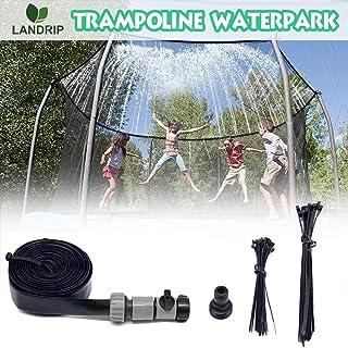 comprar comparacion Landrip Trampoline Sprinklers, Trampoline Waterpark Water Trampoline Jugar para el Juego de Agua de Verano al Aire Libre S...