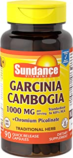 Sundance Garcinia Cambogia Plus Chrome, 90 Count